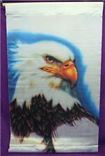 Eagle Banner Signed Wall Hang Scroll Poster Flag Finish