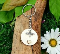 The Little Bee Handmade Keyring with Gift Box | SHOP SALE