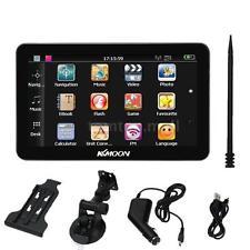 "7"" HD Portable Car GPS Navigator Windows CE 6.0 MP3 FM Video Play+Free Map Y7K1"