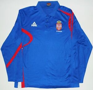 Serbia Peak Basketball Sweatshirt Sz 2XL