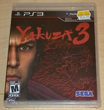 Yakuza 3 PS3 *** BRAND NEW SEALED ***