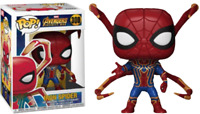 Exclusive Infinity War - Iron Spider with Legs Funko Pop Vinyl New in Box