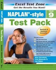 Excel Test Zone NAPLAN-style Year 9 Test Pack NEW Pascal Press 9781741254952