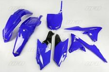 Kit plastique UFO motocross Yamaha YZF 250 450 4 temps 2014 - 2017 bleu