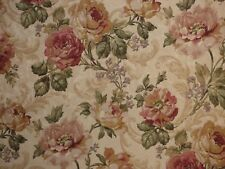 Mill Creek Floral ROSEWOOD Curtain Drapery Jacquard Home Decor Sewing Fabric BTY