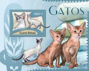 Guinea-Bissau - 2012 Cats -  Stamp Souvenir Sheet GB12107b