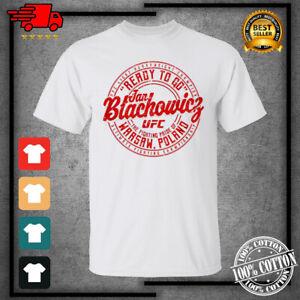 Men's UFC Jan Blachowicz Ready to Go Crest Boxing 2021 T-Shirt For Fan