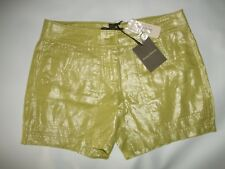 "TOMMY BAHAMA Spring Bud Green Foil 5"" Inseam SHORTS Womens Size 2 NEW"