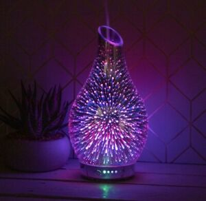 Leonardo Aroma Humidifier Oil Diffuser Colour Changing LED Light In Gift Box