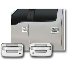 Chrome 04-14 Ford F150 Door Handle Cover Trim Bezel 4 Door No Keypad