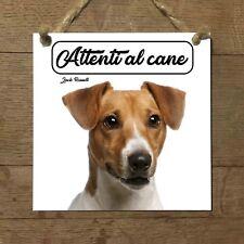 Jack Russell Terrier MOD 2 Attenti al cane Targa cane cartello ceramic tiles