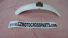 CZ Motocross Twin Pipe Front Fender