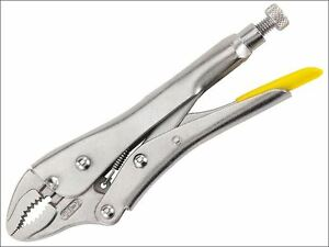 Stanley Tools - Locking Pliers 185mm Curved Jaw - 0-84-808
