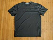 Nike Dri-Fit black & gray striped Men'S Xl extra large workout T-shirt
