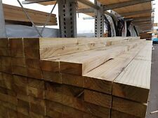 47 x 100mm Sawn Carcasing Green Tannalised Treated Decking Joist 4.8 meter