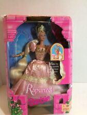 Fairytale Rapunzel Barbie Doll Mattel 1997 *Missing Doll Stand* Box Damage