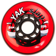 80mm x 88a (very hard) Hockey Wheels, YAK Slap, 8 wheels, made in U.S.A.