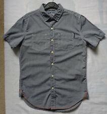 "SUPERDRY 'Summer Riveter' Shirt for Men. Size Medium, 39"" Chest. VGC. Grey"