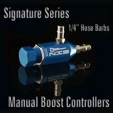 "NXS MOTORSPORTS - 1/4"" 6MM BARBS BLUE SIGNATURE SERIES BOOST CONTROLLER TURBO"