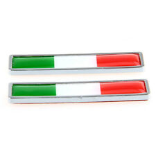 Italy Italian Flag Logo Emblem Badge Car Motorcycle Decorative Decor Sticker