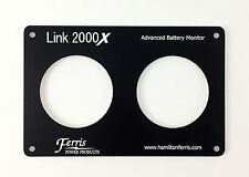 Link 2000 Monitor, Replacment Faceplate - for Xantrex and Heart Interface