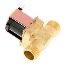Electric Solenoid Valve All Brass Casting Structure Reliable Precise For