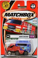 MATCHBOX 2001 #68 of 75  SNOW DOCTOR - KIDS' CARS OF THE YEAR