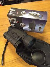 BUSHNELL EQUINOX Night Vision Sight Monocular Still & Video Capture Digital 6x50
