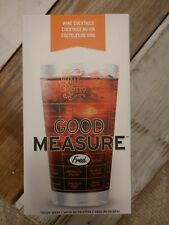 Fred & Friends Fred GOOD MEASURE Recipe Glass, Wine, 16 ounce, Assorted