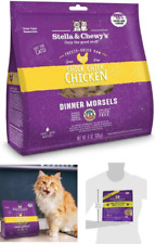 Freeze Dried Raw Dinner Morsels All Natural Minimally Processed Healthy For Cats