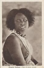 North Africa arab nude Slave Beautiful Girl original postcard 1920s