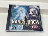 NANCY DREW PC Game 2 Pack - Haunting of Castle Malloy & Legend of Crystal Skull
