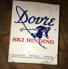 Vintage Nos Dovre Binding Set - Cross Country Ski ( x-country) - Usa - 75mm