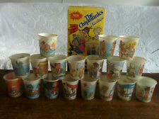 """Your Choice VINTAGE ALVIN CHIPMUNKS & CHIPETTES History on 3"""" Dixie Cup Collect"""