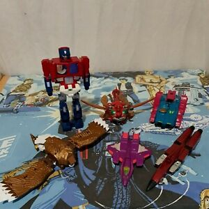 Transformers G1 & 1990s Junkers Spares Or Repair Action Figures Lot No4 Hasbro