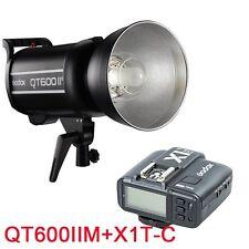 Godox QT-600IIM Studio Flash 600W 2.4G HSS 220V + X1T-C transmetteur pour Canon