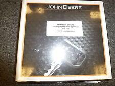John Deere 764 High Speed Dozer Operation & Test Shop Service Manual TM11192