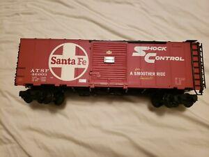 Aristocraft G Scale Sante Fe Shock Control Box Car ATSF 46003
