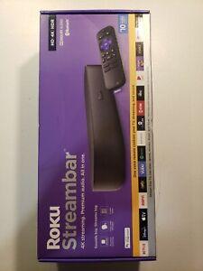 Roku Streambar Media Player Bluetooth speaker NEW
