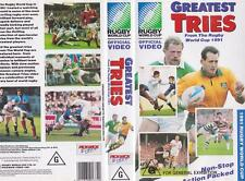 RUGBY UNION~GREATEST TRIES WORLD CUP 1991  VIDEO VHS PAL~ A RARE FIND