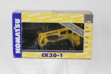 Joal 40084 Komatsu Ck-30 Compact TRACKED Loader Diecast Scale 1 25