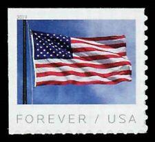 2019 55c U.S. Flag, Stars & Stripes, Booklet Single Scott 5344 Mint F/VF NH