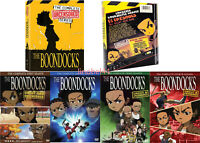 The Boondocks: Complete Series Seasons 1-4 (DVD, 11-Disc Set) USA SELLER.