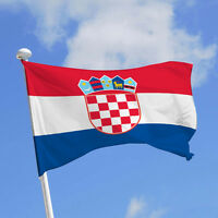 Drapeau Croatie / Croate / 145 cm X 90 cm