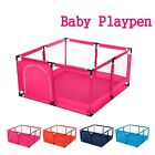 50x26 Baby Playpen Kids Safety Home Pen Fence Play Center Yard Foldable