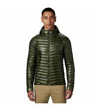 Mountain Hardwear Ghost Whisperer 2 hooded Down Jacket Dark Army Mens Medium