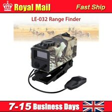 Hunting Range Finder Riflescope Laser Sight Meter Speed Measurer with Mount HOT