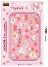 Nintendo Official Kawaii 3DS XL Soft Case -Piggy Girl- [Nintendo 3DS]