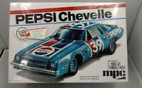 New Sealed MPC Retro Deluxe Pepsi Chevelle Stock Car Racing Model Kit 1/25 Scale