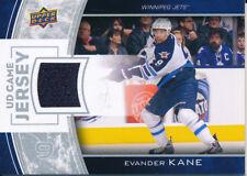 2013/14 Upper Deck Series One GJ-EK Evander Kane UD Game Jersey Insert